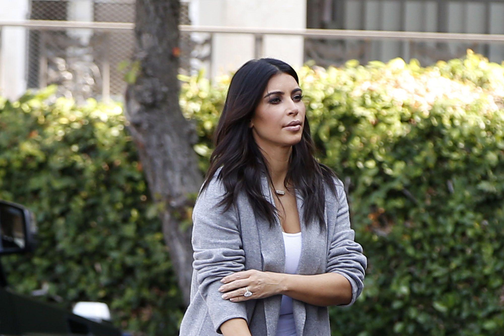 d2056ce17891 Kim Kardashian Debuts Her North West Custom Birkin
