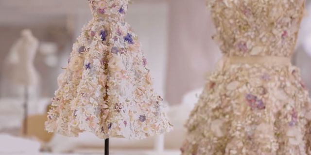 Watch This Mesmerizing Video of a Mini Dior Couture Dress Being Made