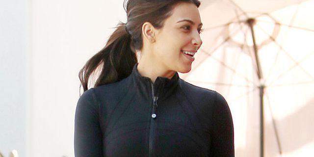 Kim Kardashian's Wedding Workout Playlist