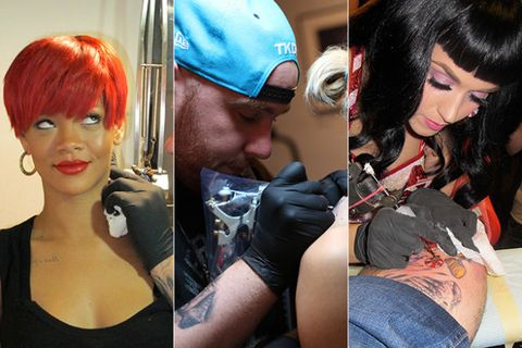 Nose, Cap, Mouth, Hairstyle, Style, Fashion accessory, Tattoo, Red hair, Fashion, Black hair,