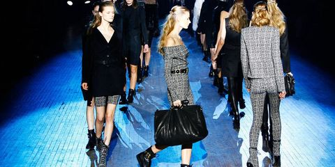 Clothing, Footwear, Leg, Event, Trousers, Outerwear, Dress, Coat, Formal wear, Fashion model,