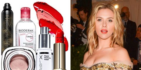 Scarlett Johansson's 4 Beauty Rules