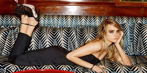 See Cara Delevingne's Gorgeous New Campaign for Topshop