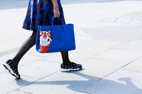 Clothing, Bag, Street fashion, Shoulder bag, Pattern, Luggage and bags, Travel, Electric blue, Tote bag, Shopping bag,