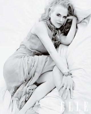 Nicole Kidman ELLE cover shoot