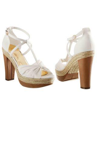 H&M t-strap espadrille heel