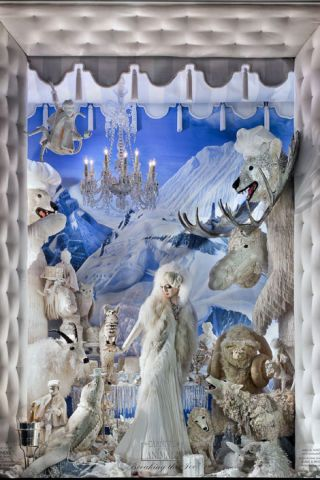 Bergdorf's Arctic Garden Party