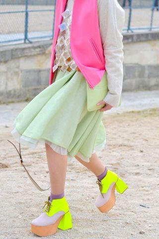 Susie Bubble in Paris.