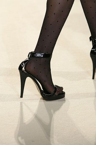 Footwear, Human leg, Joint, Style, High heels, Sandal, Basic pump, Fashion, Black, Foot,