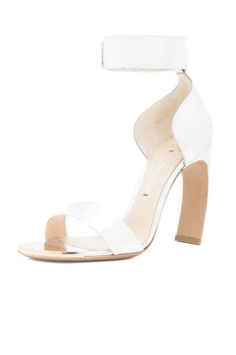 Footwear, High heels, White, Sandal, Tan, Fashion, Basic pump, Foot, Beige, Ivory,