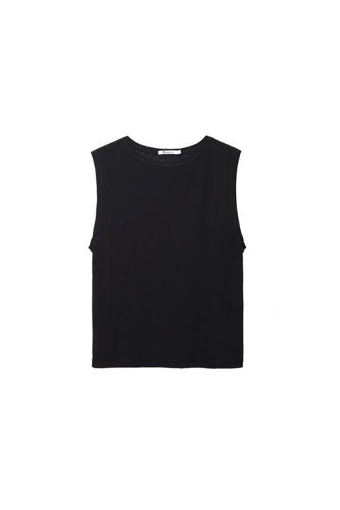 Sleeve, White, Black, Sleeveless shirt, Active shirt, Top, One-piece garment, Day dress,