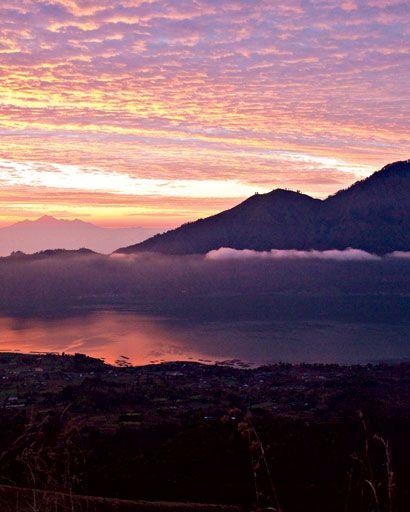 Sunrise at Mount Batur