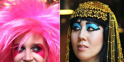 Makeup for halloween from cleopatra to jem last minute looks to steal the spotlight ccuart Images