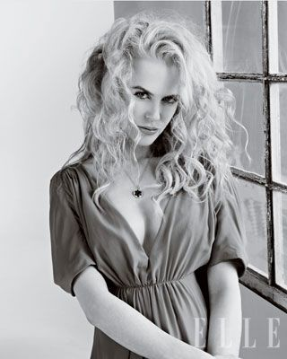 Nicole Kidman ELLE cover shoot