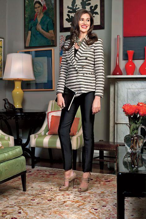 Human, Green, Outerwear, Furniture, Interior design, Picture frame, Fashion accessory, Interior design, Knee, Blazer,