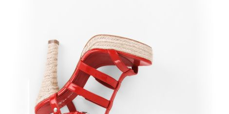 BCBGeneration Baileys high-heel espadrille
