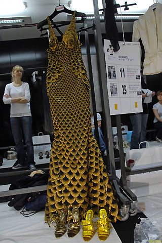 Jean Paul Gaultier Spring 2008 Haute Couture Backstage - 003
