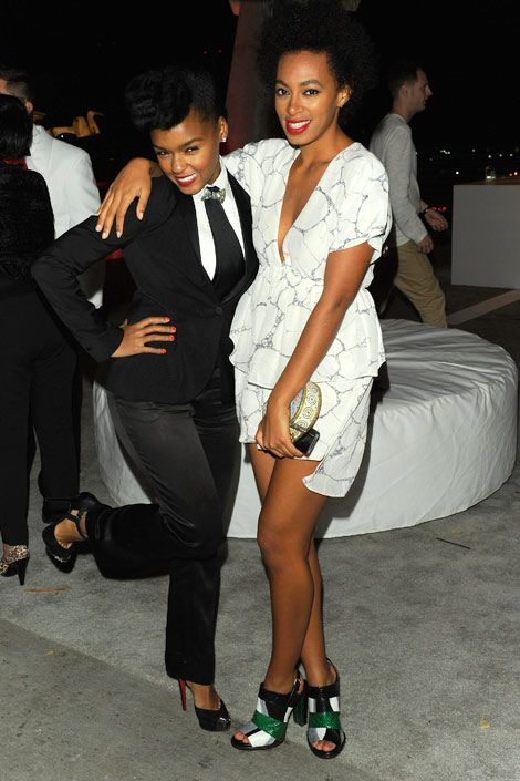 Janelle Monet-Essence and Solange Knowles