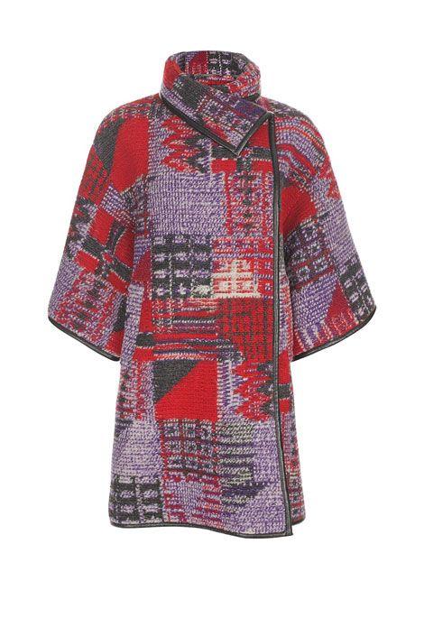 Matthew Williamson blanket wrap coat