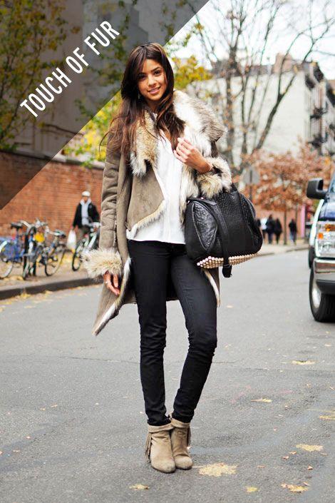 Clothing, Footwear, Brown, Trousers, Textile, Photograph, Outerwear, Bag, Jeans, Denim,
