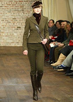 Ralph Lauren Fall 2003 Ready-to-Wear Collections 0001