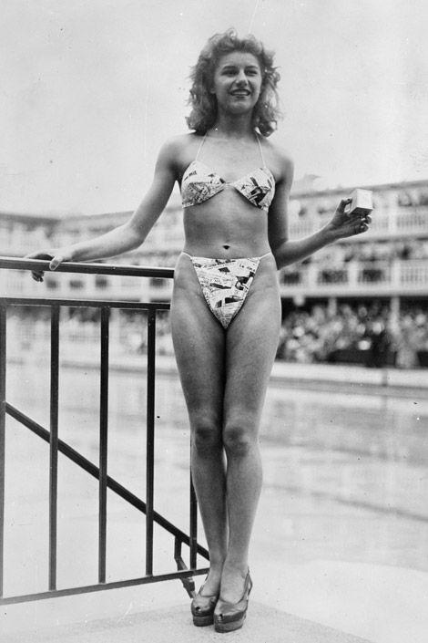 1947 bikini girl