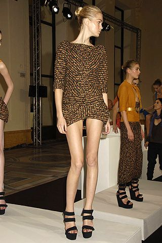 VÃ{{{copy}}}ronique Leroy Spring 2008 Ready-to-wear Collections - 001