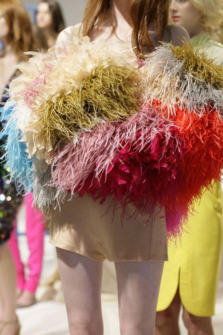Costume accessory, Fashion, Thigh, Fur, Blond, Waist, Costume, Long hair, Brown hair, Calf,