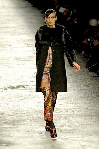 Dries Van Noten Fall 2008 Ready-to-wear Collections - 001