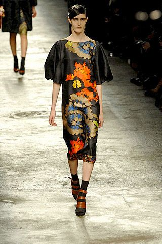 Dries Van Noten Fall 2008 Ready-to-wear Collections - 002