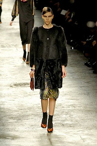 Dries Van Noten Fall 2008 Ready-to-wear Collections - 003