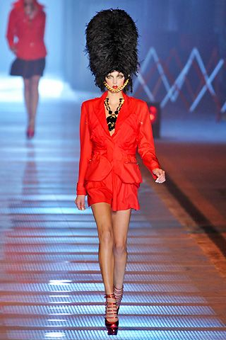 John Galliano Spring 2009 Ready-to-wear Collections - 001