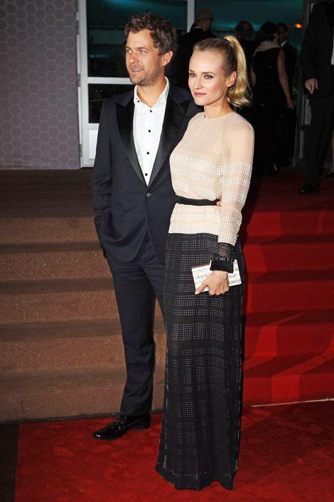 Diane Kruger in Jenny Packham