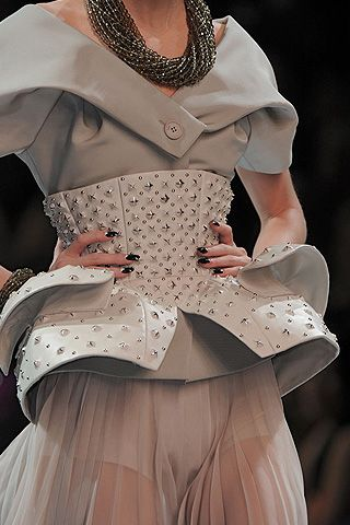 Christian Dior Fall 2008 Haute Couture Detail - 003