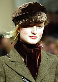 Ralph Lauren Fall 2003 Ready-to-Wear Detail 0001