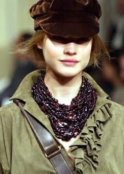 Ralph Lauren Fall 2003 Ready-to-Wear Detail 0002