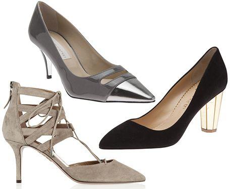 Low Heels Fall 2013 Trend - Low Mid and Kitten Heels
