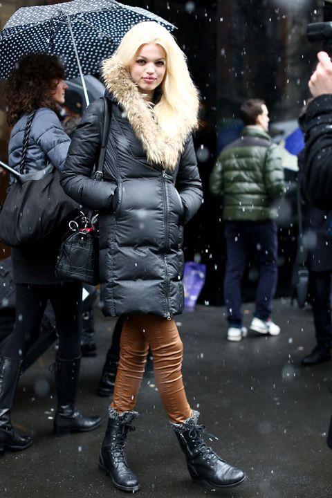 Clothing, Footwear, Human, Winter, Leg, Trousers, Jacket, Camera, Textile, Photograph,