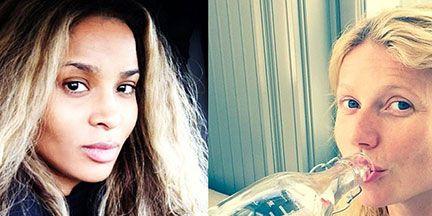 Our Favorite Celebrity 'No Makeup' Selfies