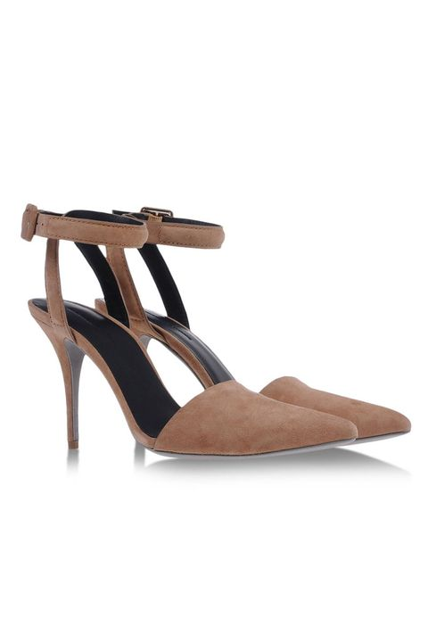 Brown, High heels, Shoe, Sandal, Tan, Basic pump, Beige, Foot, Fawn, Leather,