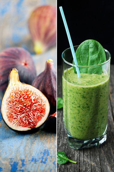 Green, Food, Ingredient, Juice, Drink, Vegetable juice, Produce, Natural foods, Health shake, Peach,