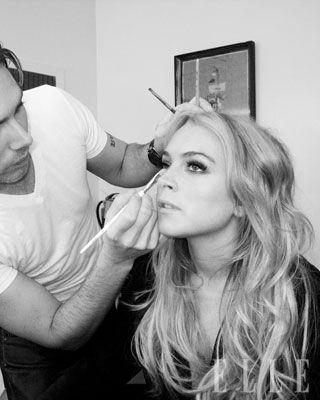 Lindsay Lohan ELLE Cover Shoot