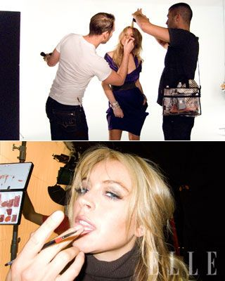 Lindsay Lohan ELLE Cover Shoot