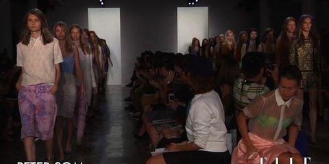 Leg, People, Human body, Social group, Thigh, Fashion, Youth, Audience, Fashion design, Hall,
