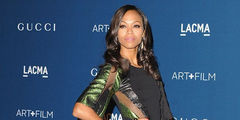 Zoe Saldana's Best Fashion Moments