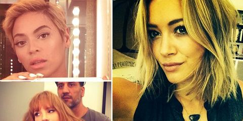 20 Celebs Who Debuted New 'Dos on Instagram