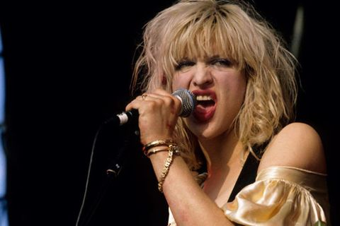 The Evolution Of Courtney Love 50th Birthday