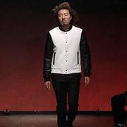 Collar, Sleeve, Human body, Outerwear, Formal wear, Style, Dress shirt, Blazer, Fashion show, Fashion,