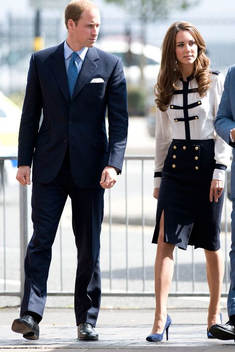 b5a7056a4be0b Kate Middleton's Mini Skirt - The Queen Objects to the Length of ...