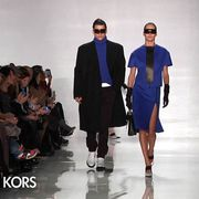 Clothing, Eyewear, Vision care, Leg, Fashion show, Product, Event, Human body, Runway, Outerwear,